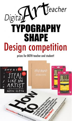 The FIRST EVER Digital Art Teacher Design Contest!
