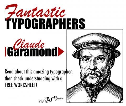 Claude Garamond: Typography   the way it used to be | digitalartteacher