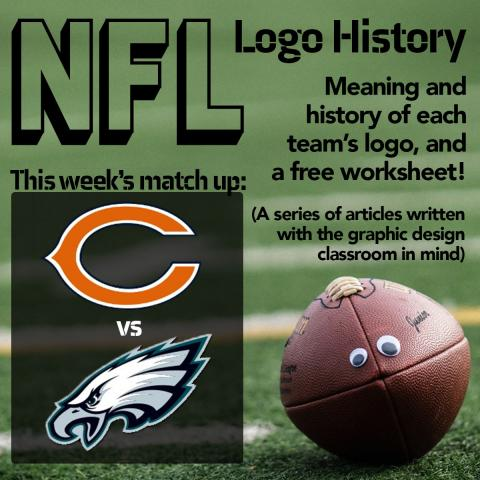 NFL Logo History: Chicago Bears vs Philadelphia Eagles
