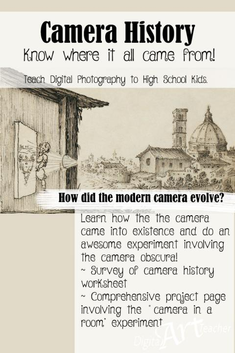 Learn where the camera began!