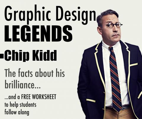Famous Graphic Designer Profile: Chip Kidd and Book Design