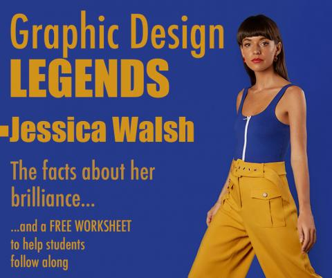 famous designers, famous graphic designers, best graphic designers, graphic designer profile, jessica walsh