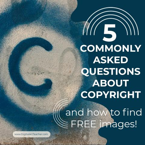 5 Commonly asked questions about copyright