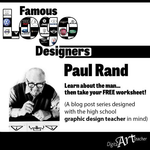 Famous Logo Designer: Paul Rand logos and designs